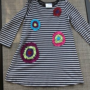 Hanna Andersson Girls cotton Dress Sz 100 (4)